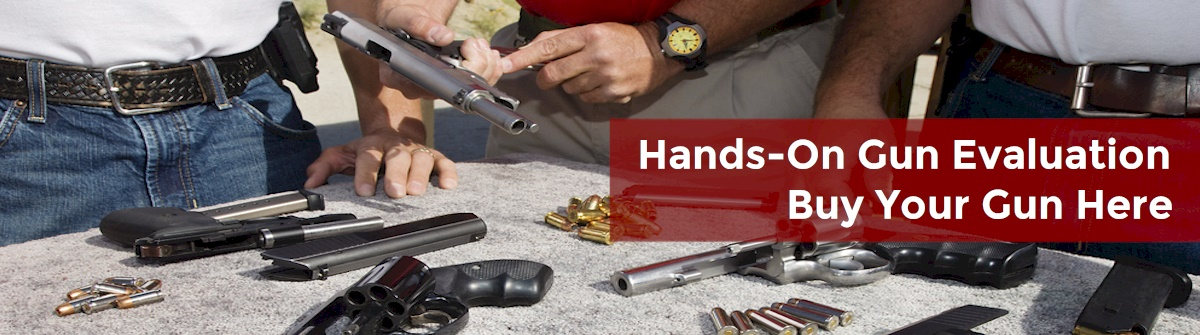 Gun Dealer Brick NJ -  Hands On Gun Selection
